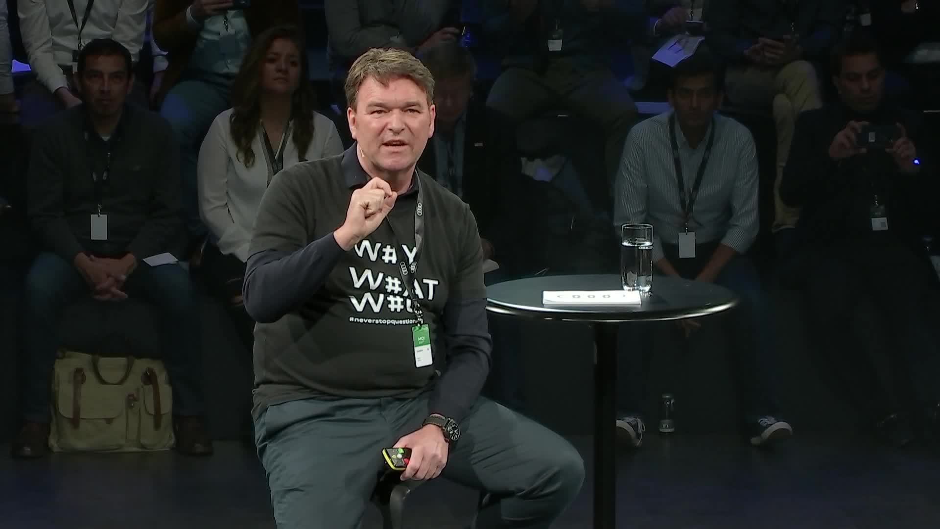 Zeit für Reflektion: Bram Schot spricht beim Audi MQ! Innovation Summit