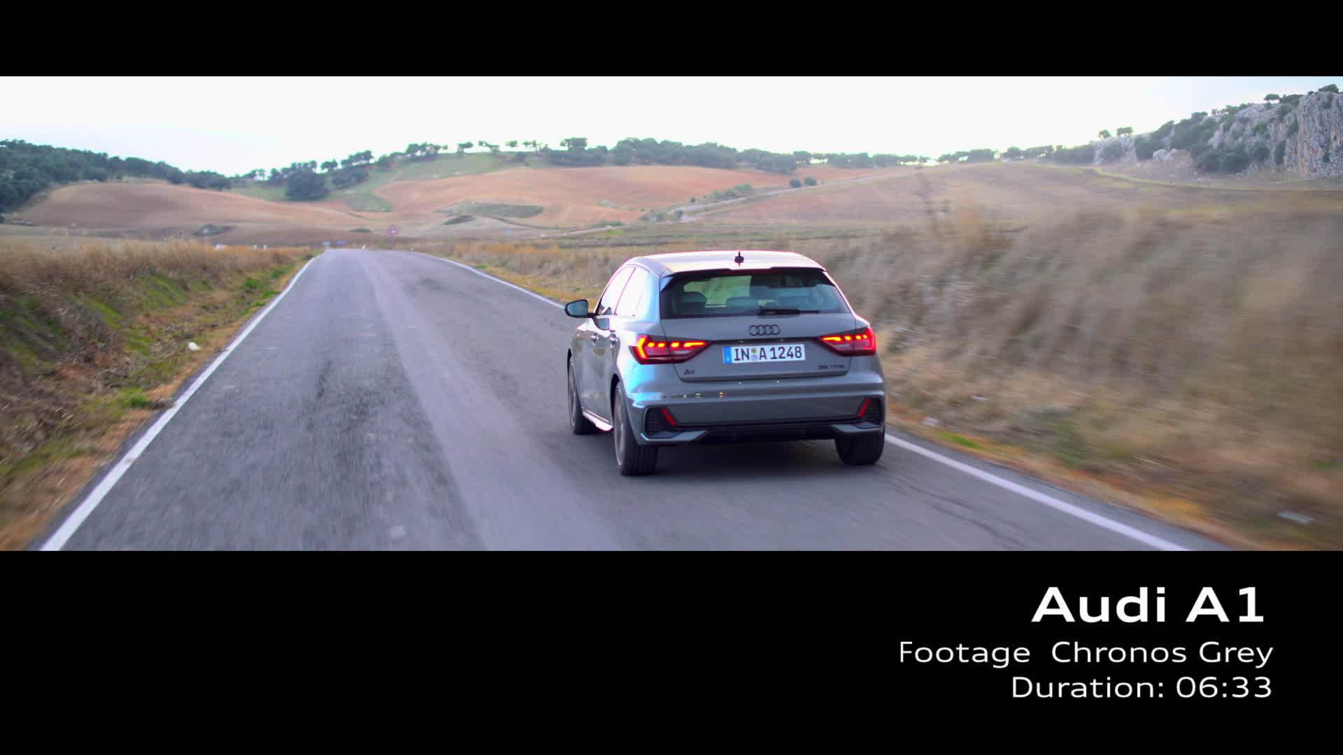 Audi A1 Footage Chronosgrau (2018)