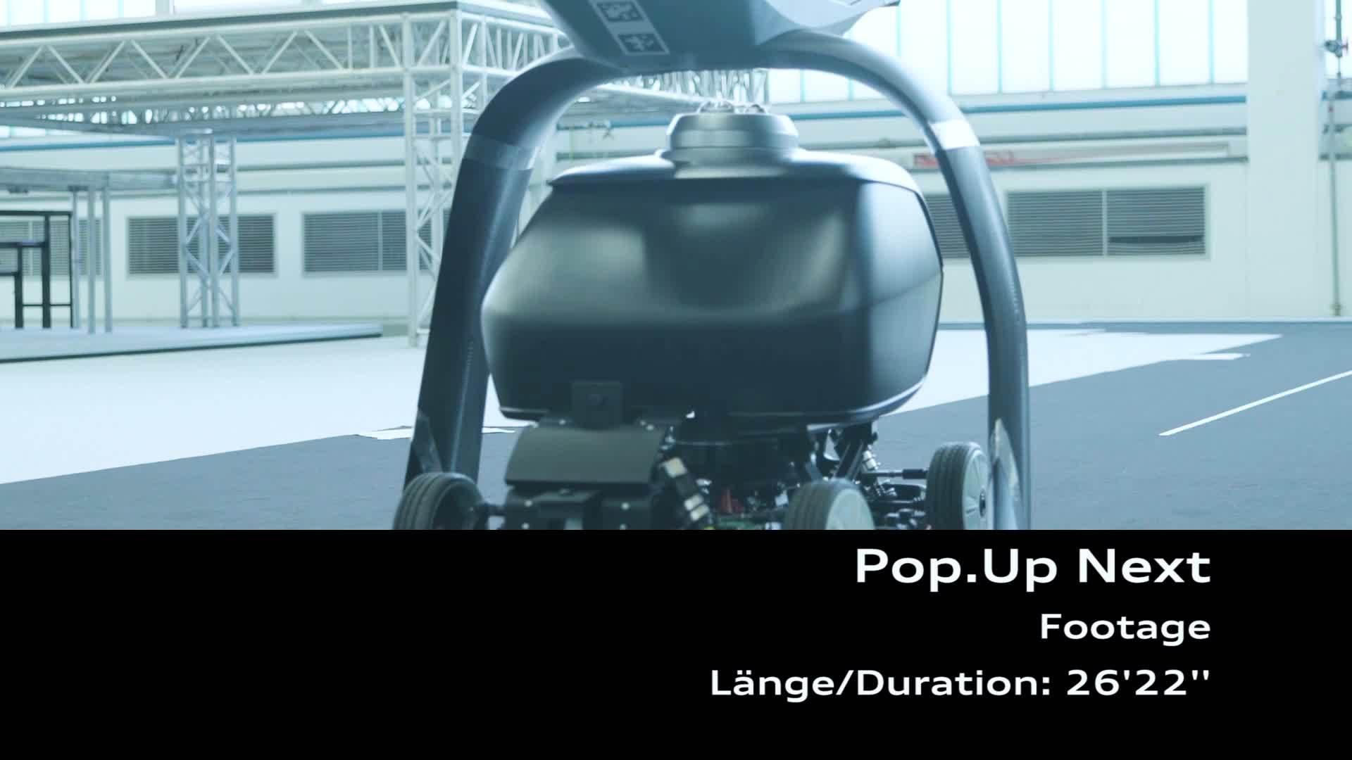 Audi, Airbus und Italdesign testen Flugtaxi-Konzept (Footage)