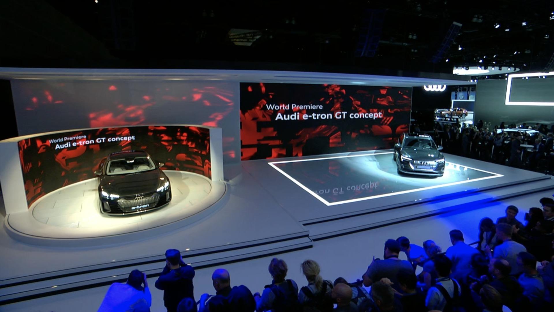 Audi Pressekonferenz L.A. Autoshow 2018