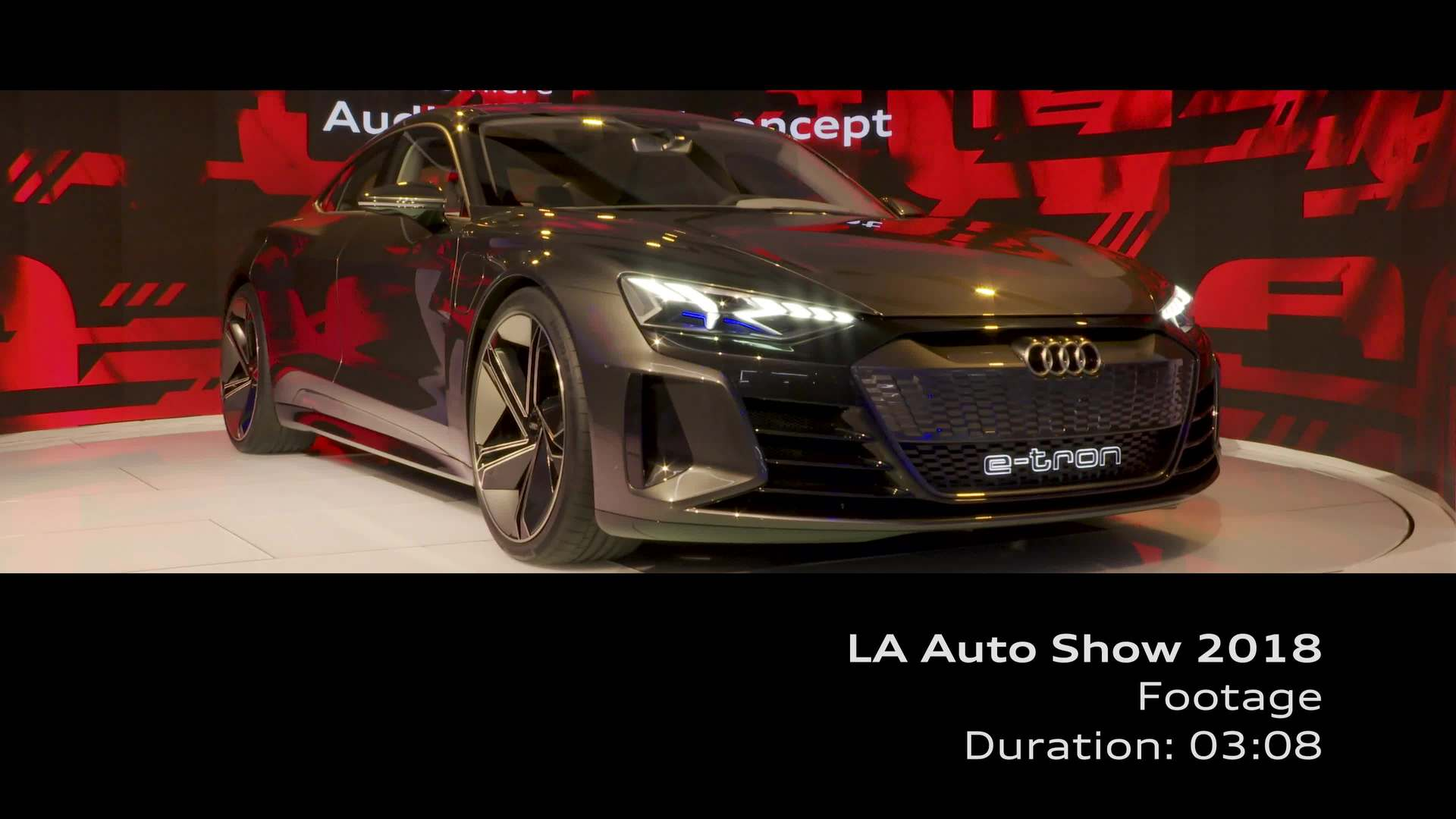 L.A. Auto Show (Footage)