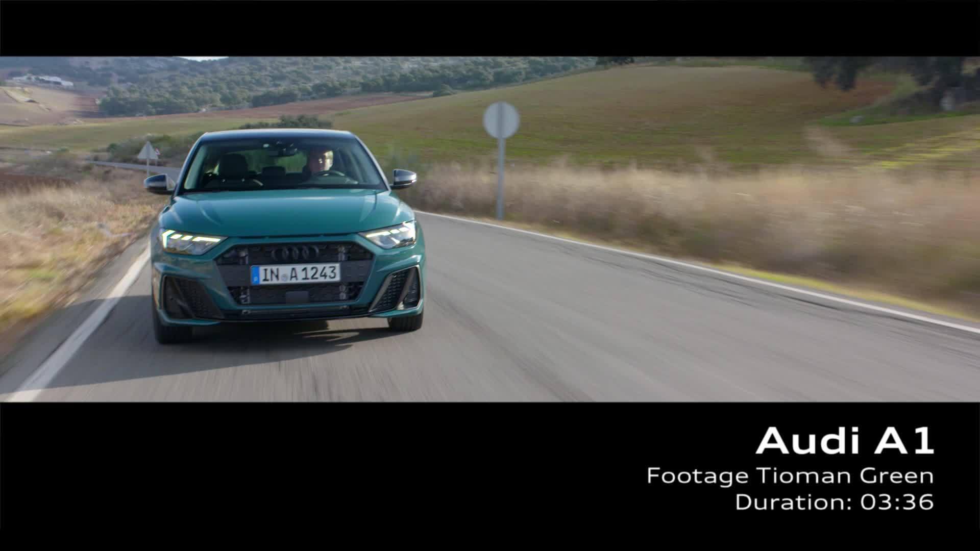 Audi A1 Footage Tioman Green (2018)