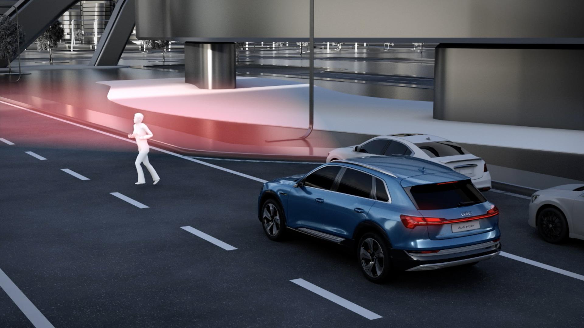 Integriertes Bremsregelsystem des Audi e-tron (Animation)