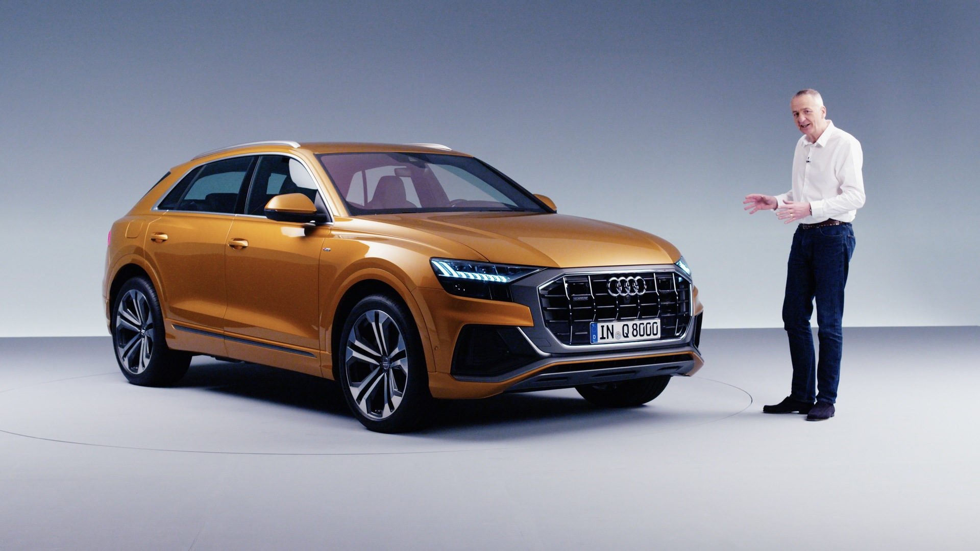 Audi Q8: first look