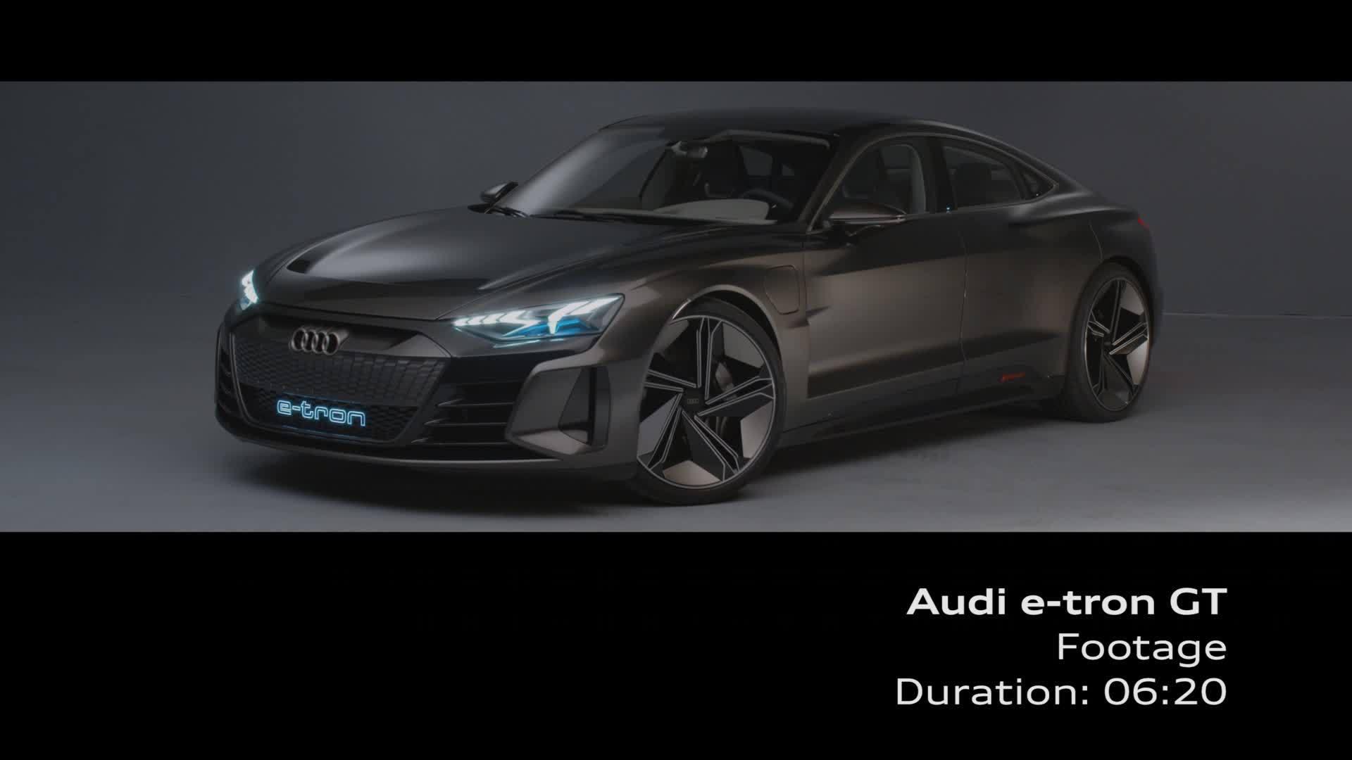 Audi e-tron GT concept (Footage)