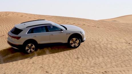 Audi e-tron in Abu Dhabi