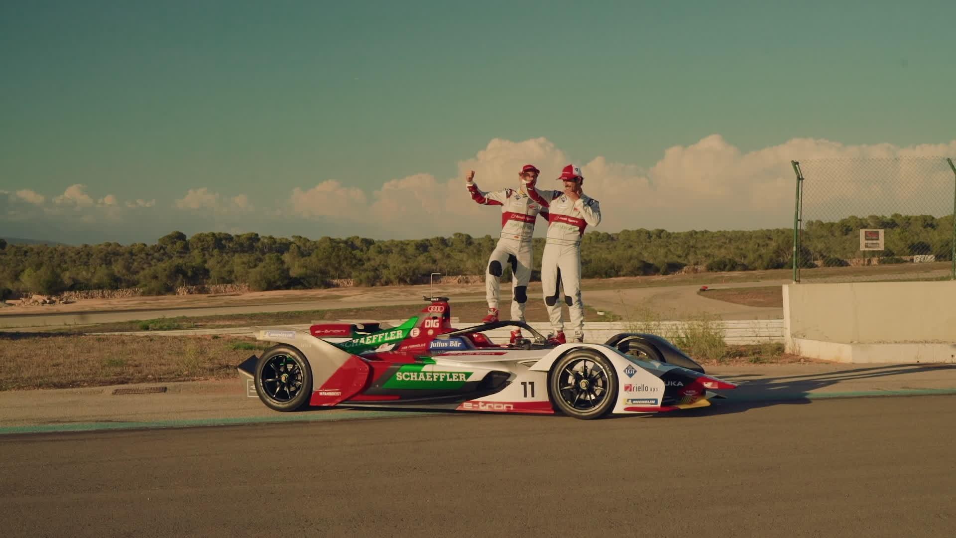 Audi präsentiert e-tron FE05 für neue Formel-E-Saison