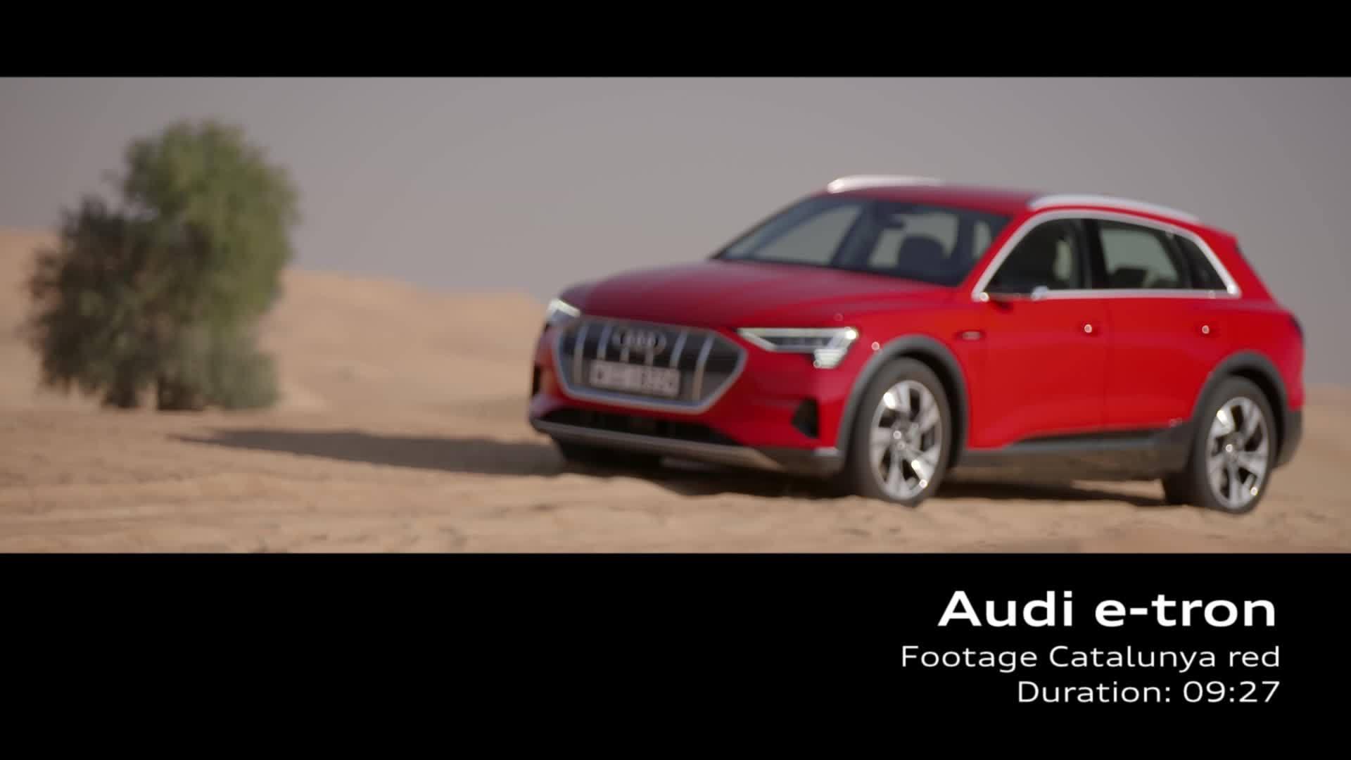 Audi e-tron Footage Catalunyarot