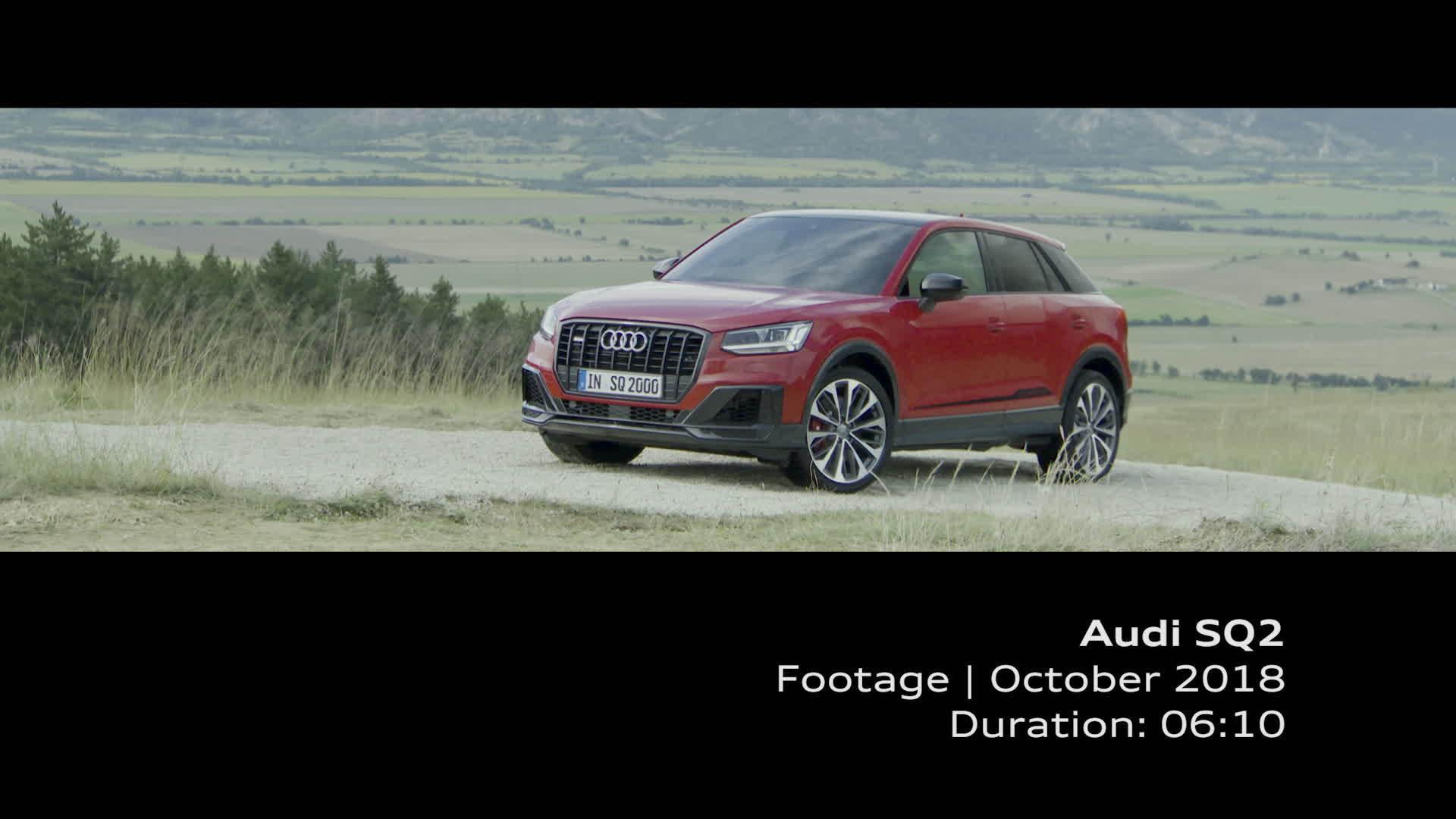 Audi SQ2 (Footage)