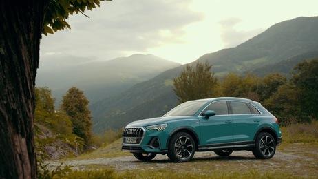 Audi Q3 Trailer on Location Bolzano