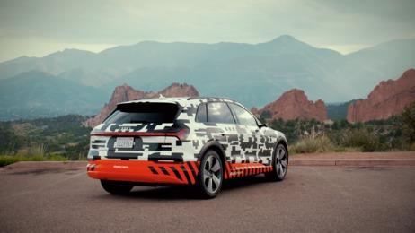 Audi e-tron prototype extreme: Recuperation test at Pikes Peak