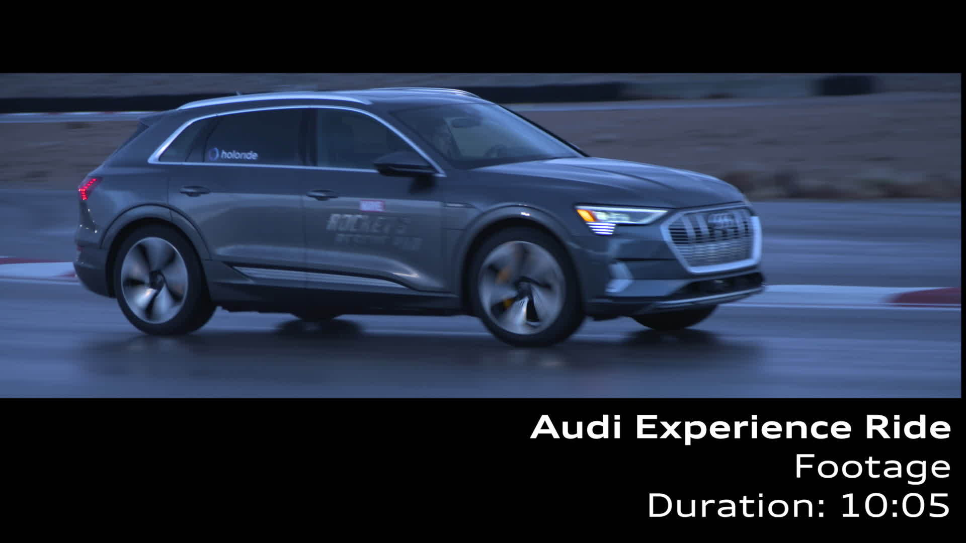 Footage Audi Experience Ride