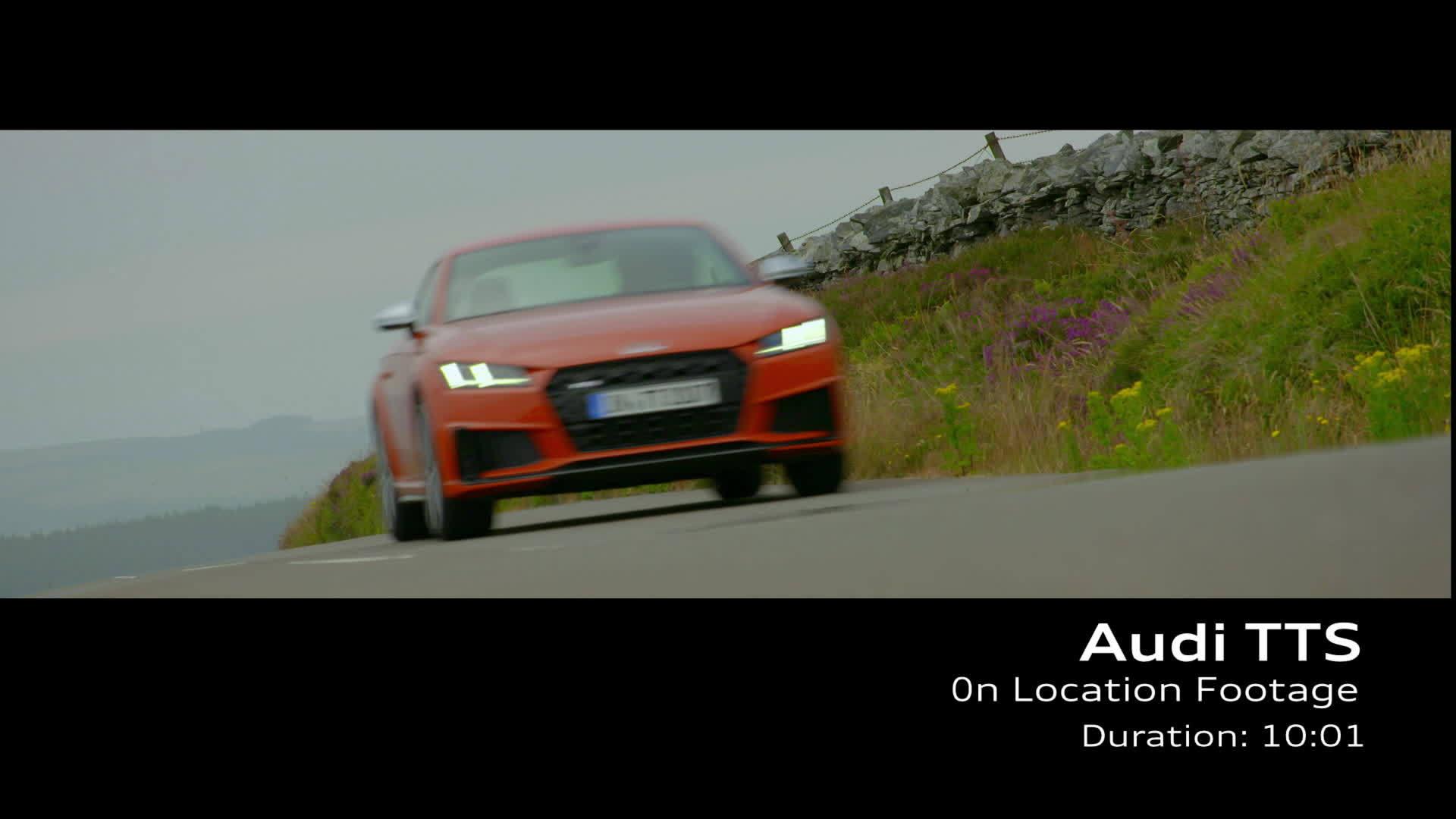 Audi TTS Footage Pulsorange