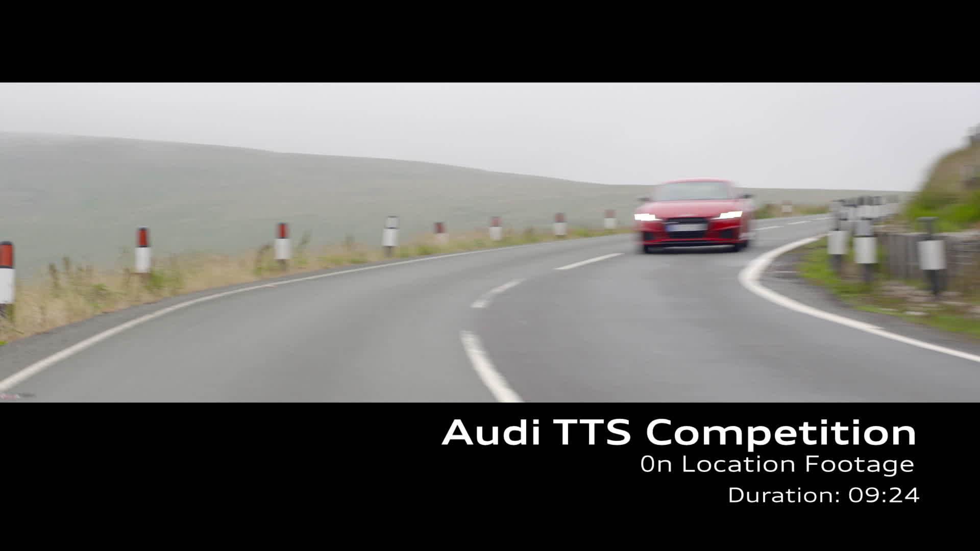 Audi TTS Footage Tango red