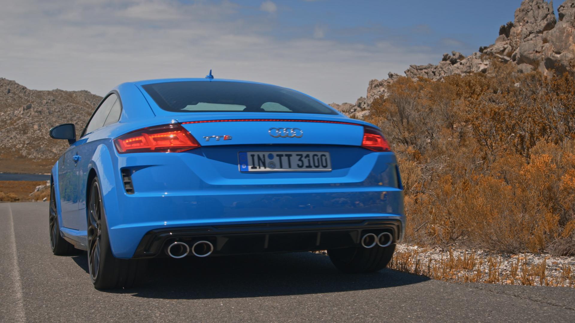 Audi TTS Coupé (Trailer)