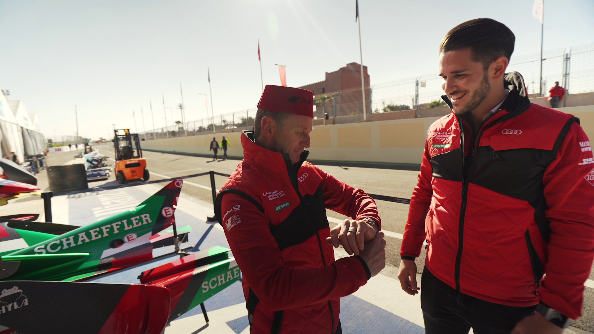 Welcome to Marrakesh: Shopping for the Team Principal