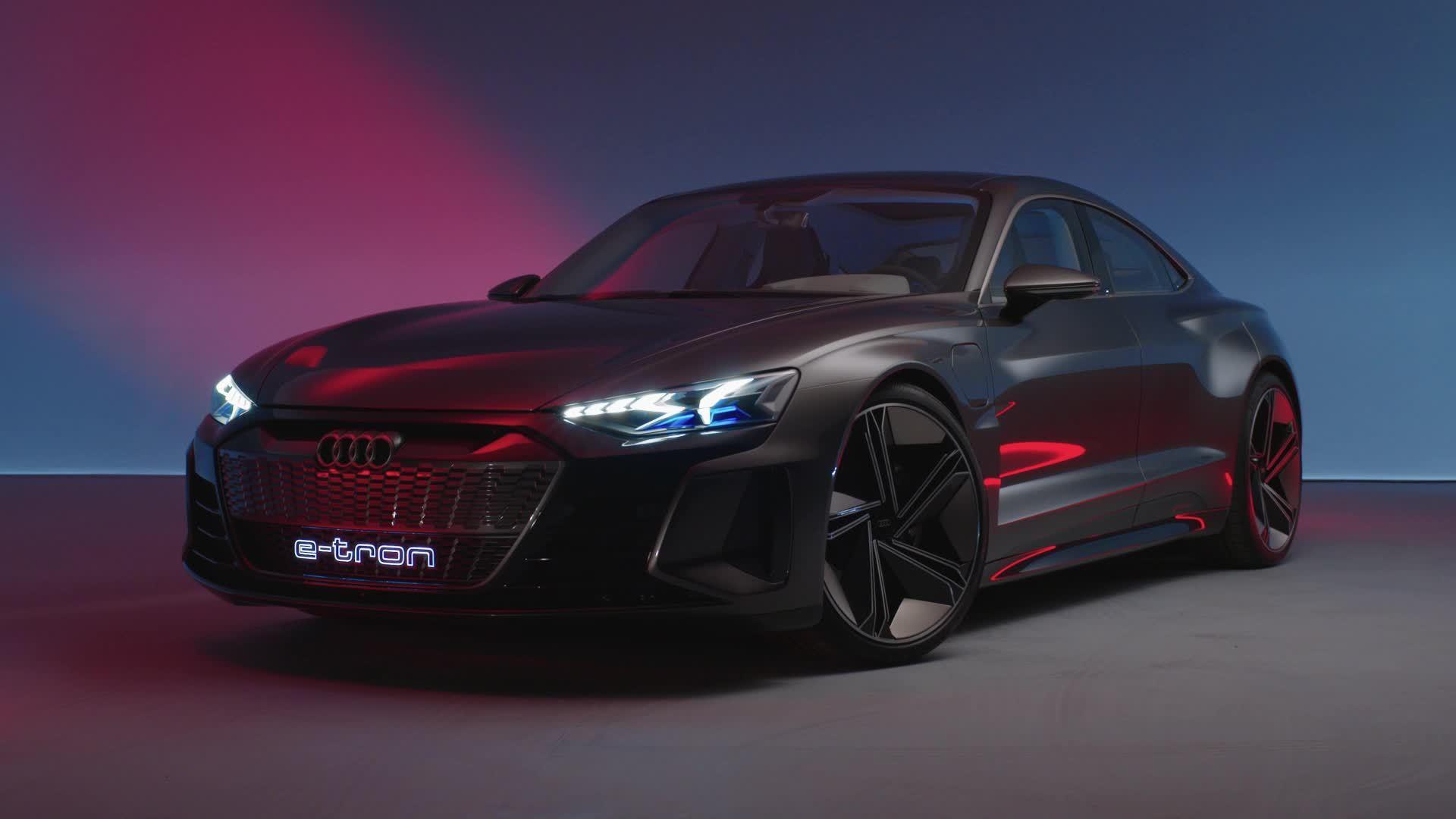 Audi e-tron GT concept (Trailer)