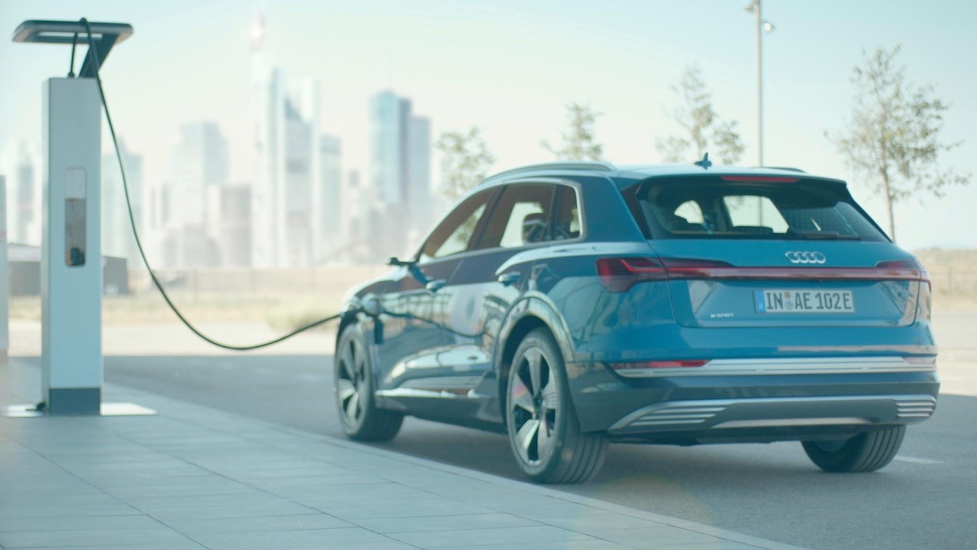 Audi e-tron: die nächste Stufe der Elektromobilität