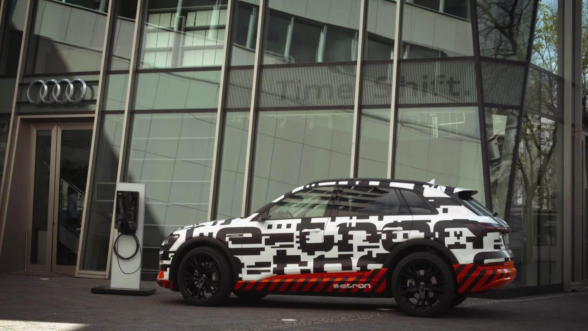 Audi e-tron-Prototyp: Voll geladen in knapp 30 Minuten