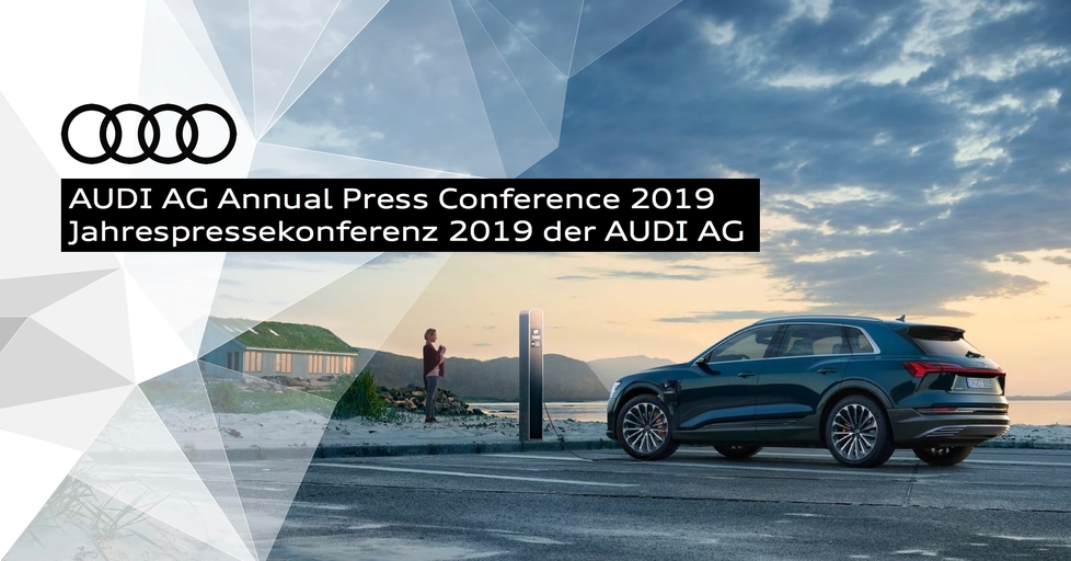 AUDI AG Annual Press Conference 2019