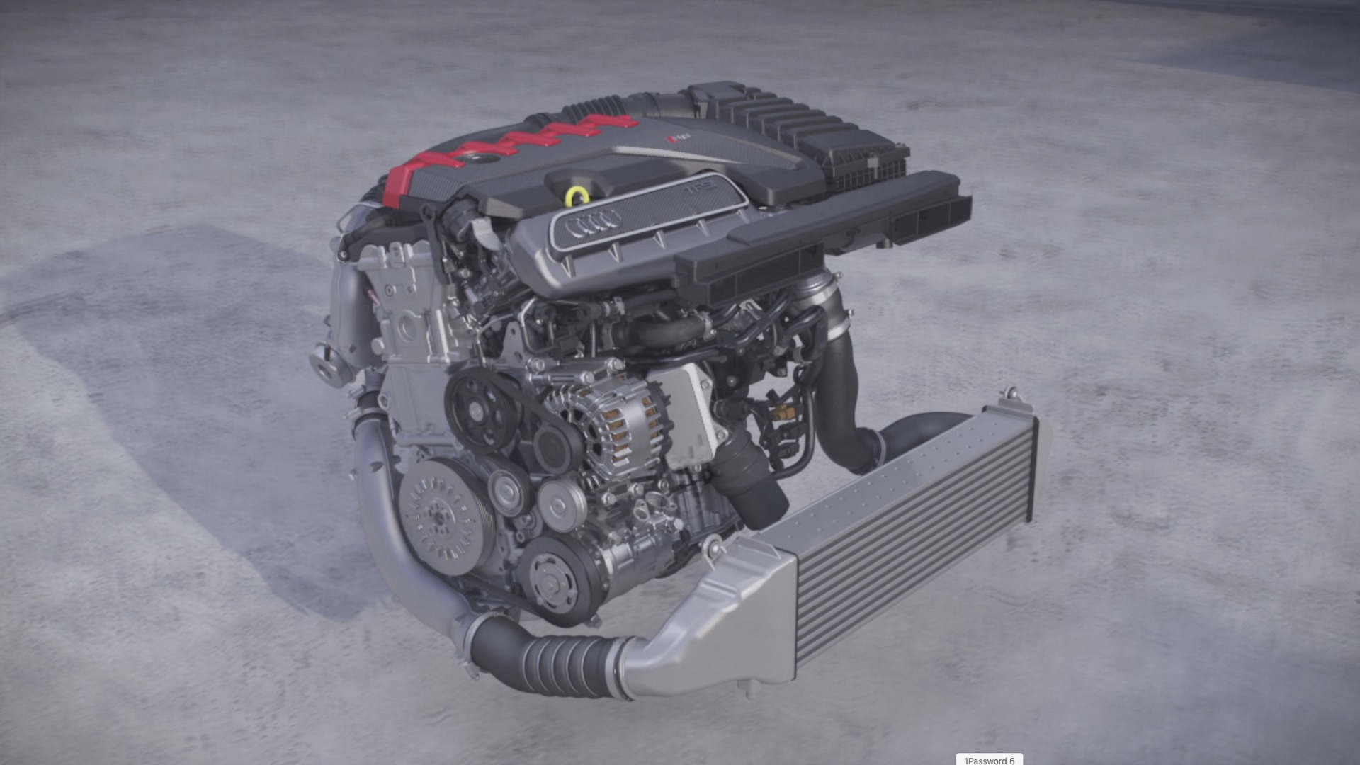 Audi TT RS Powertrain (Animation)