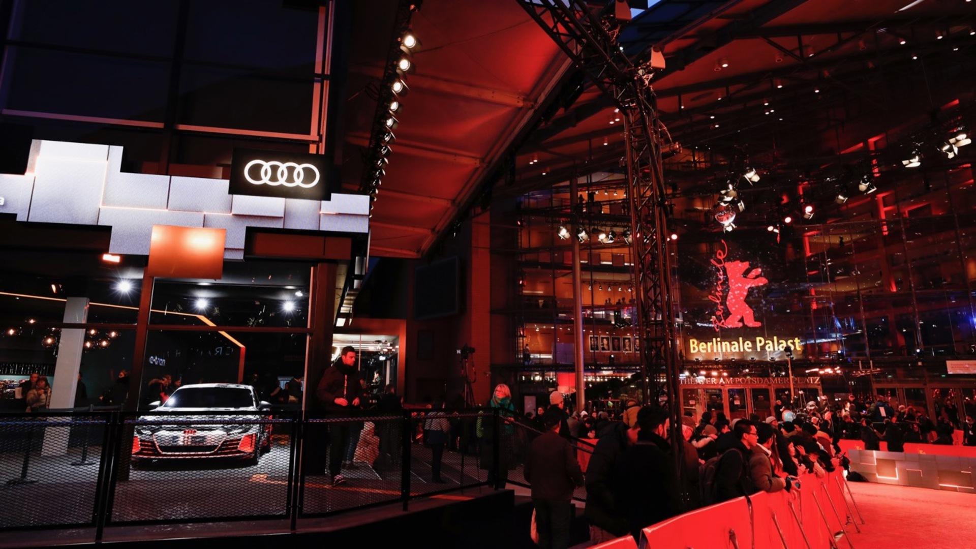 Audi e-tron meets Berlinale: elektrisch zum roten Teppich