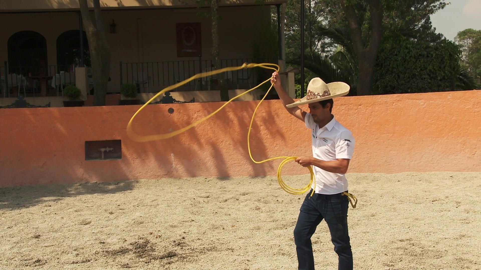 Willkommen in Mexiko-Stadt: die Cowboys