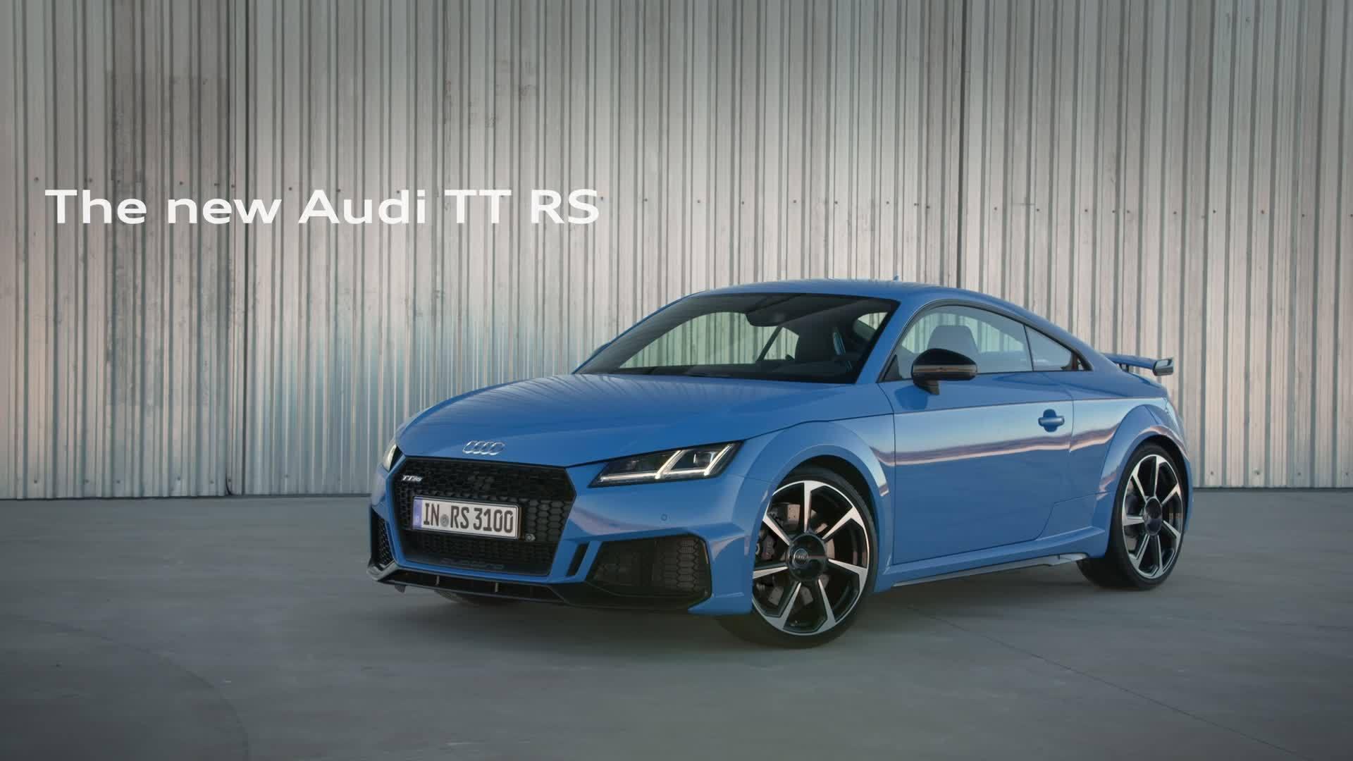 Audi TT RS (Trailer)