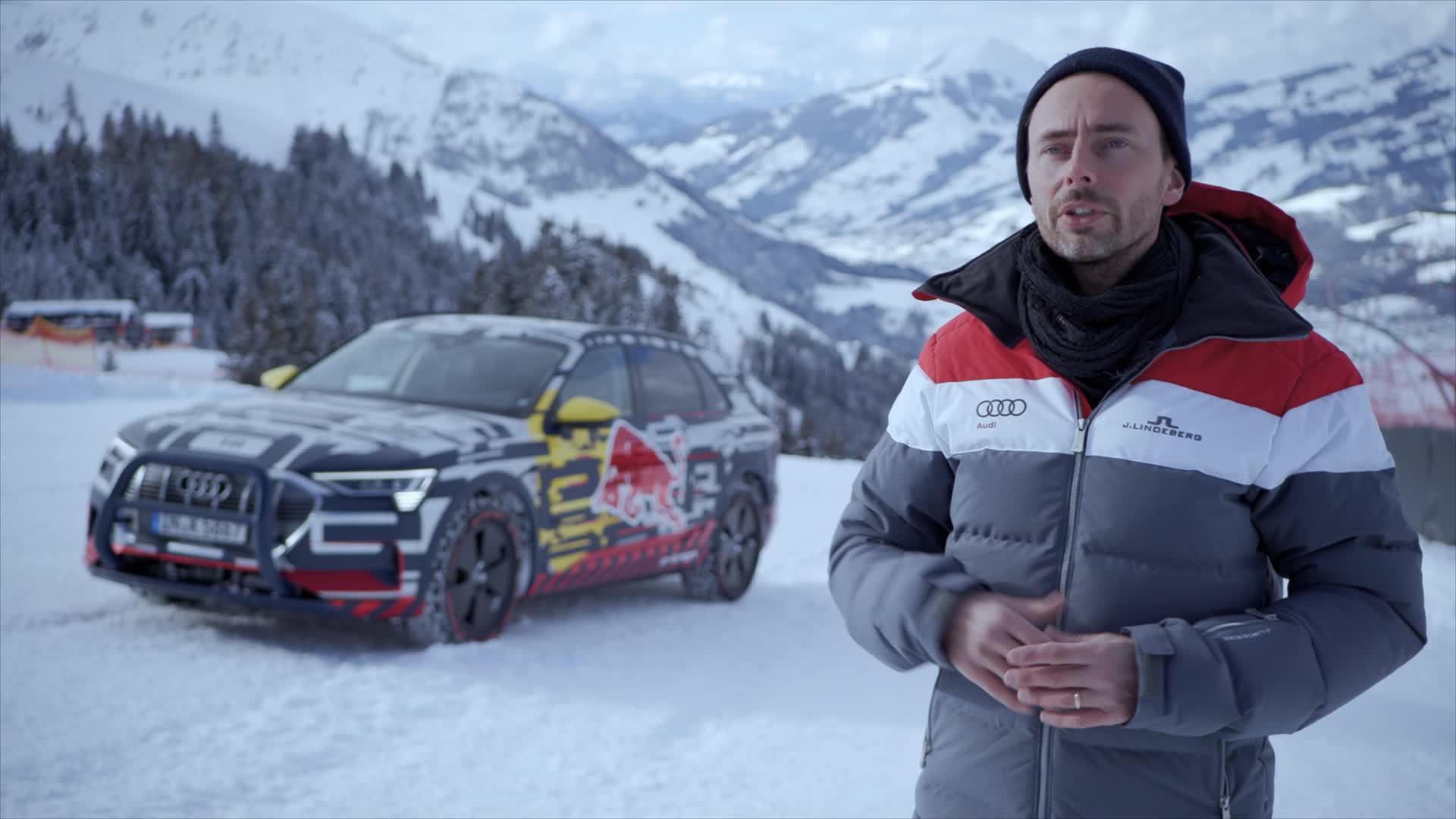"""Audi auf der Streif: """"eine enorme Challenge"""" (Footage)"""
