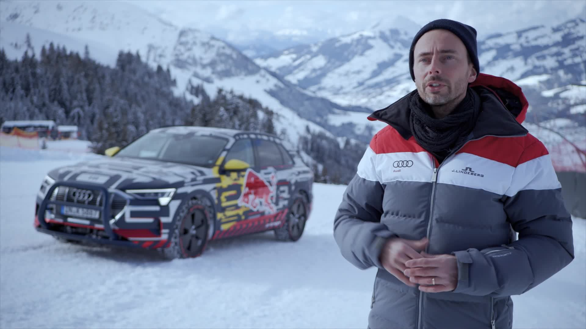 "Audi on the Streif: ""an enormous challenge"" (Footage)"