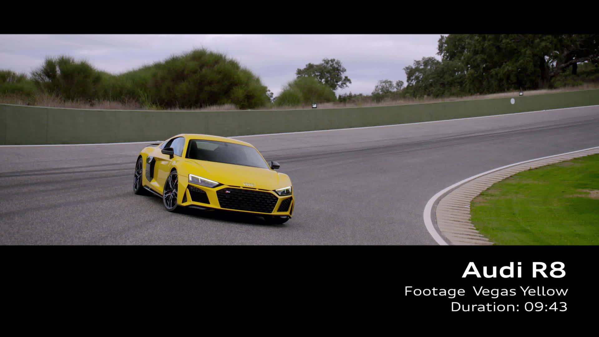 Audi R8 Footage Vegasgelb (2018)