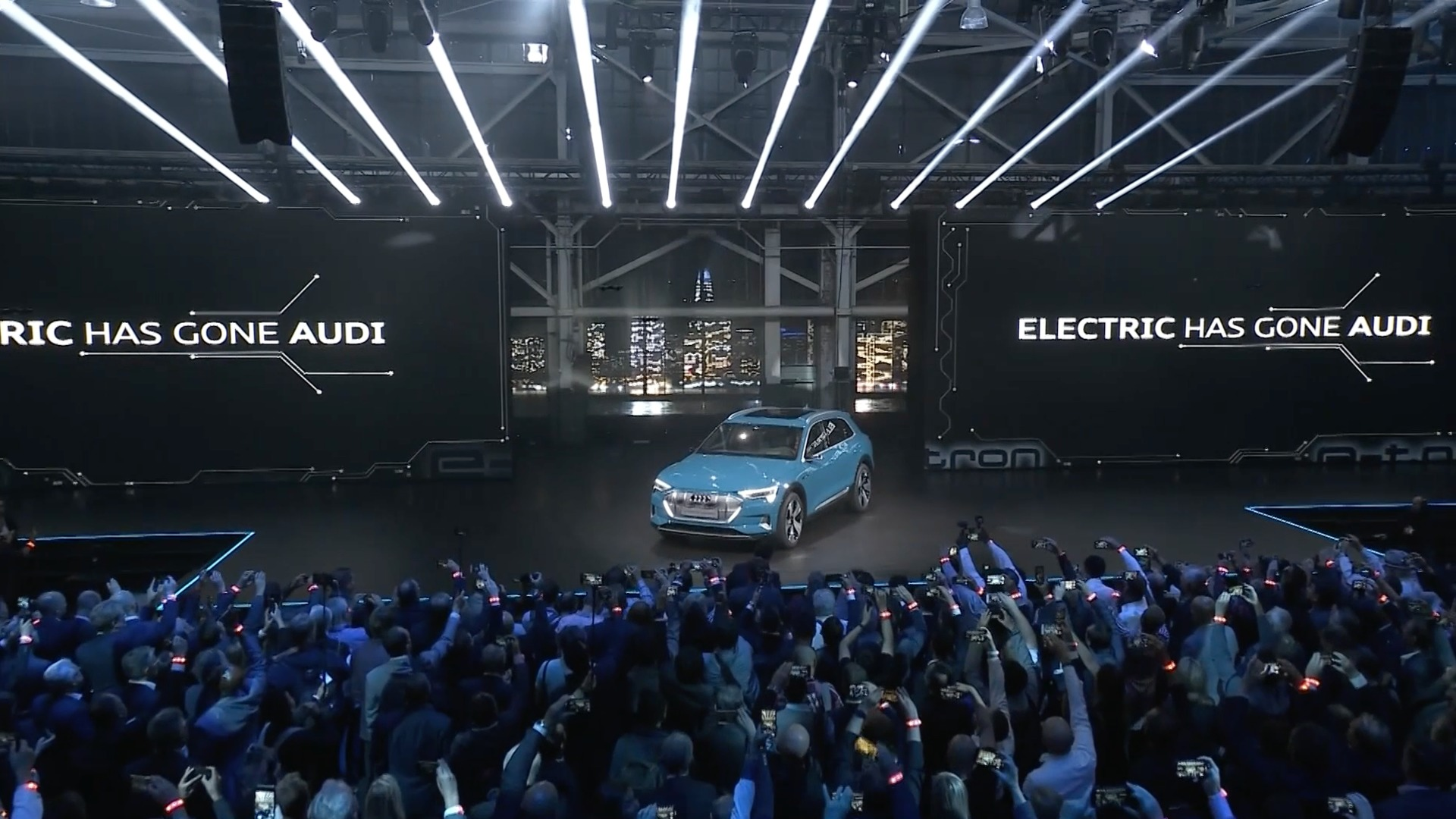 World premiere of the Audi e-tron: highlights