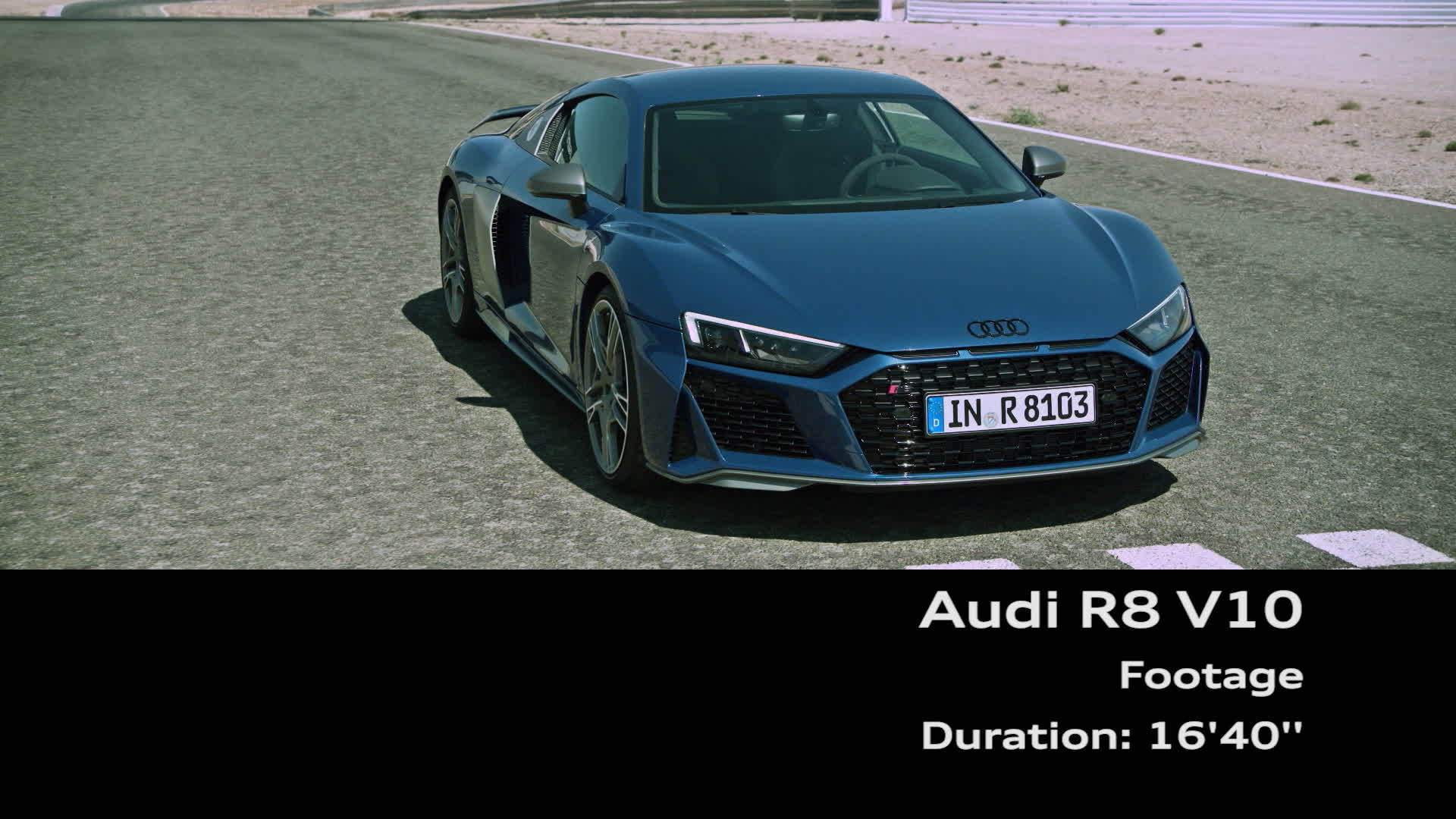 Audi R8 Coupé V10 performance quattro (Footage)