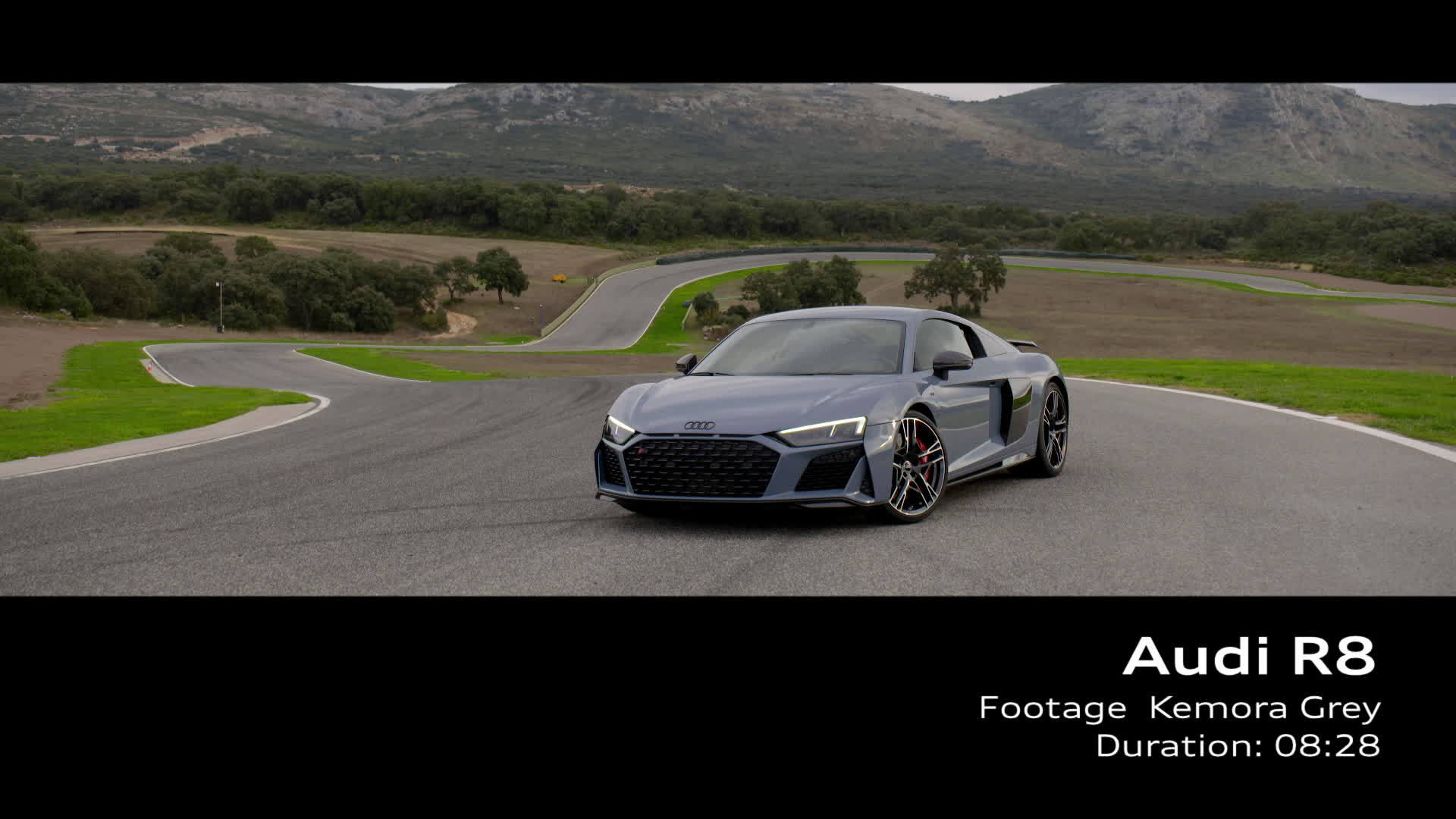 Audi R8 Footage Kemora Grey