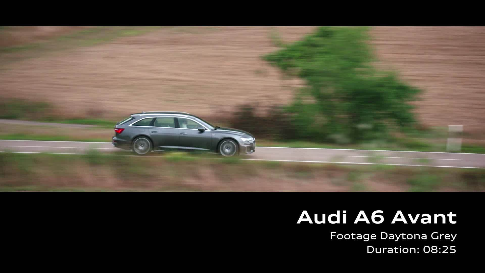 Audi A6 Avant – on Location Footage Daytona Grau