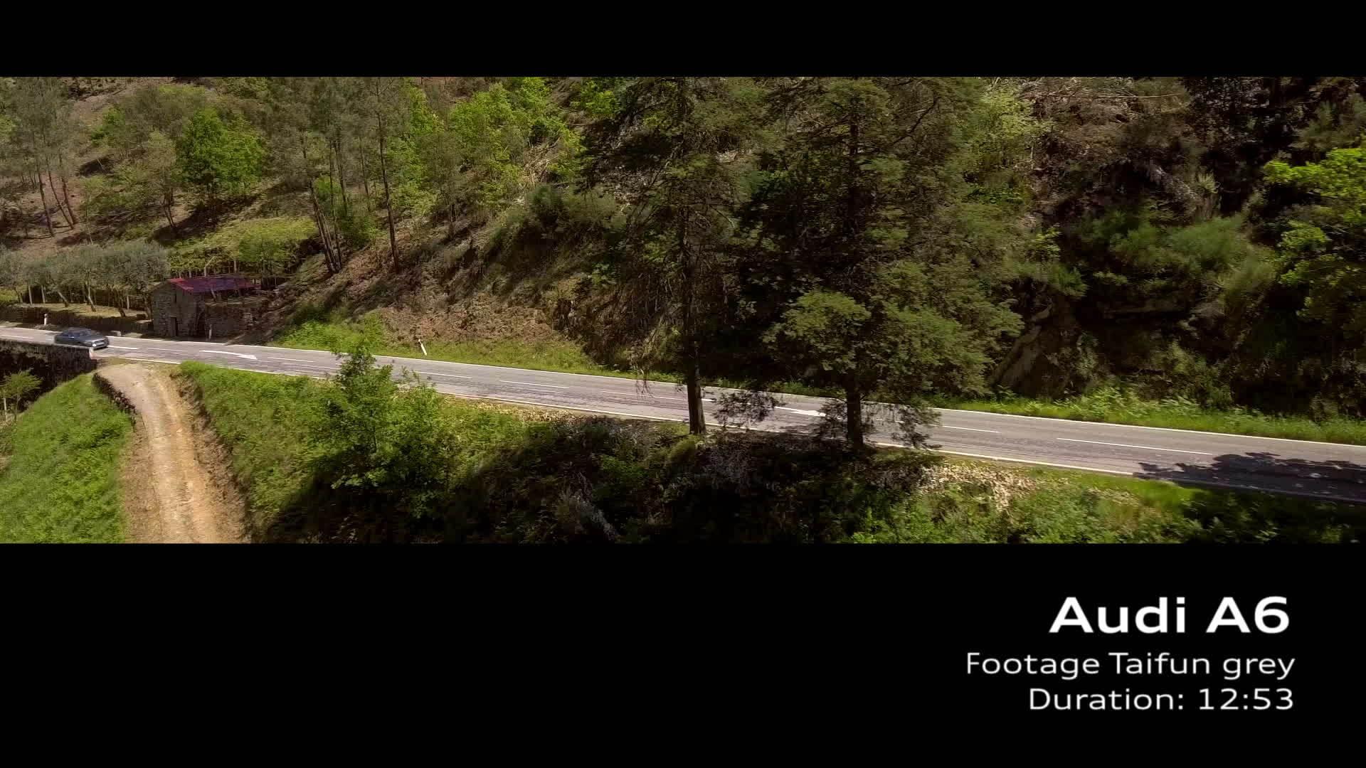 Audi A6 Footage Taifungrau