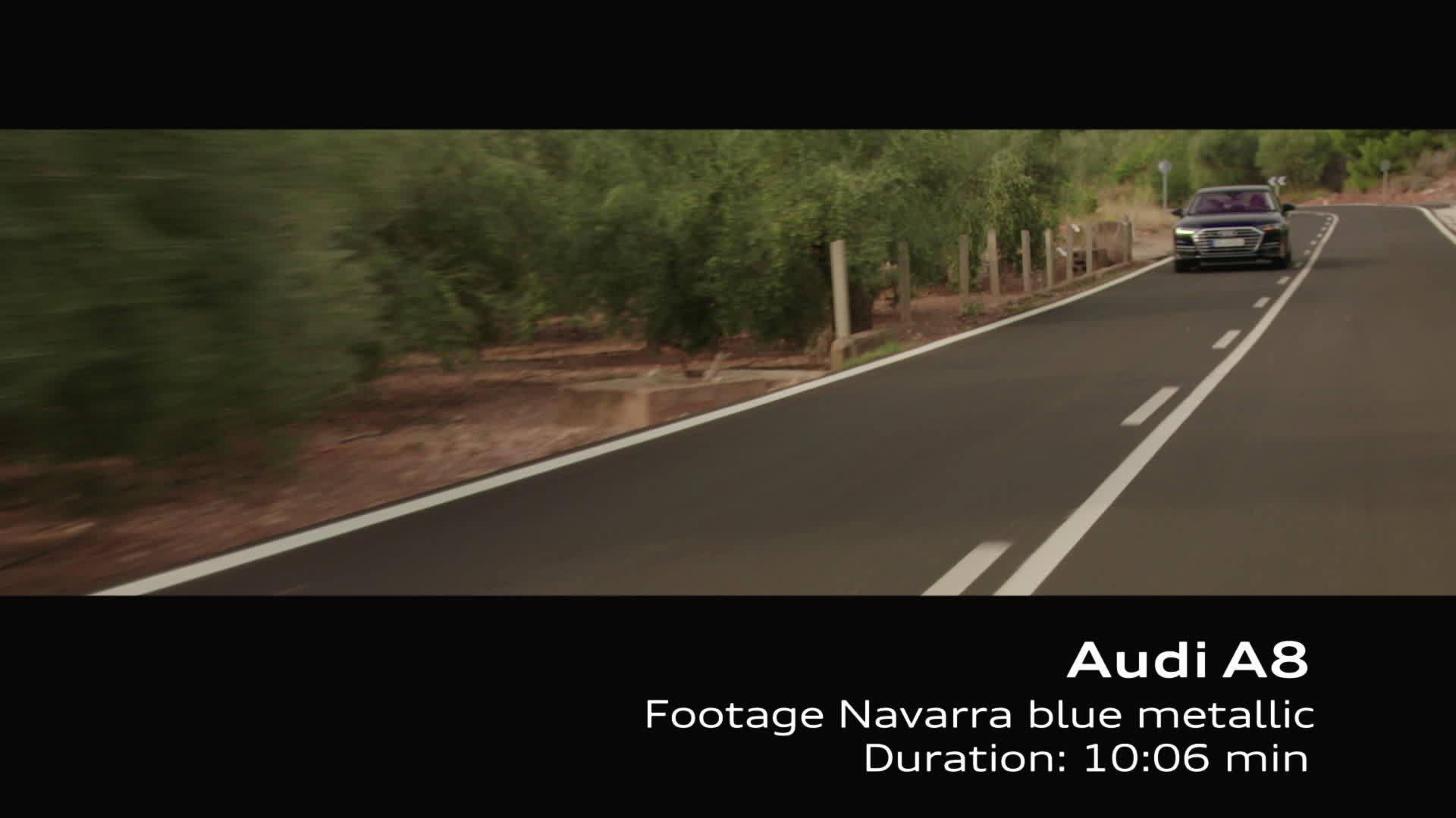 Footage Audi A8 on Location