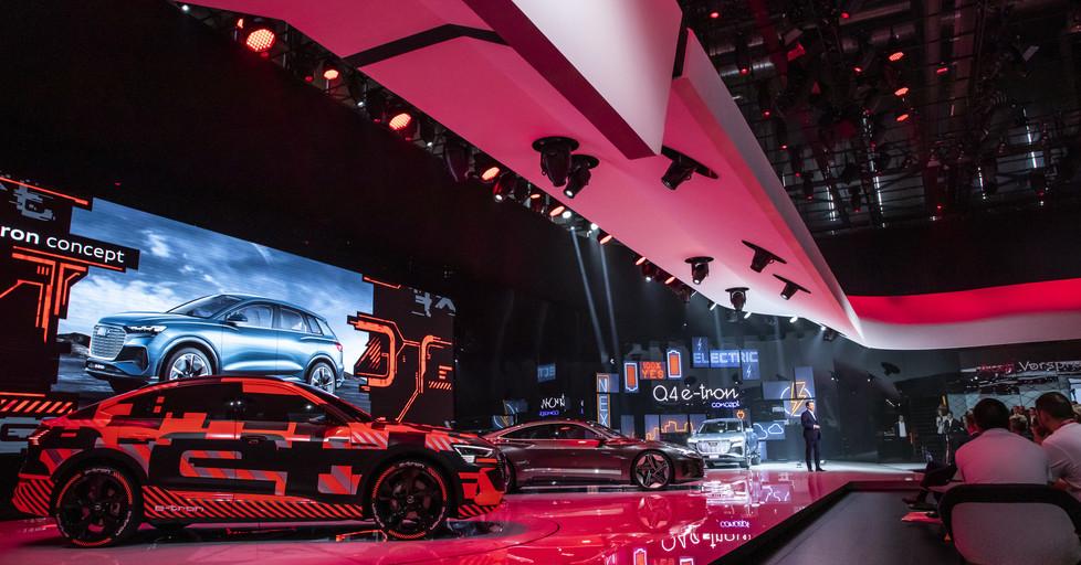 Audi auf dem Autosalon Genf