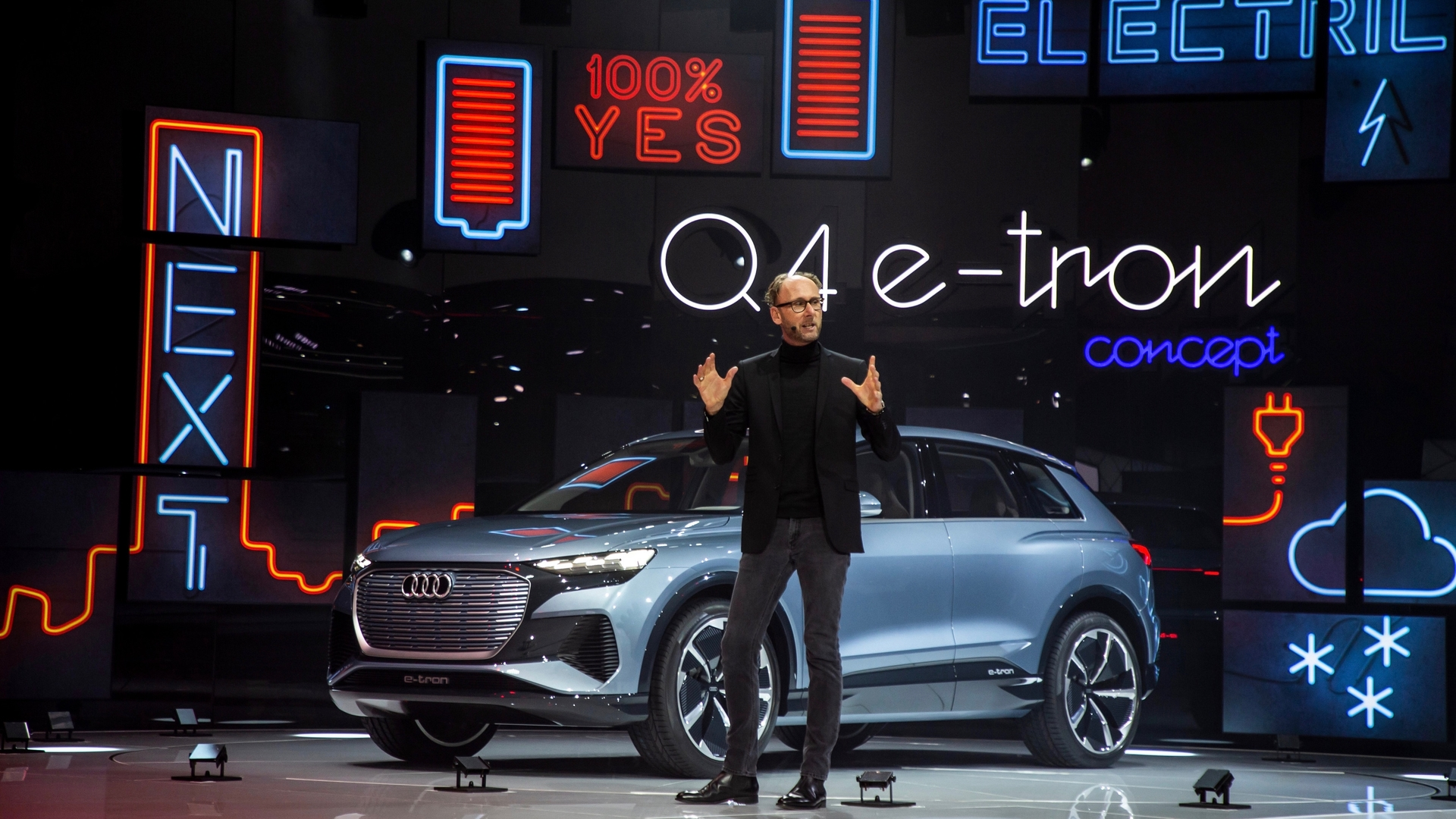 Audi Press Conference at the 2019 Geneva Motor Show