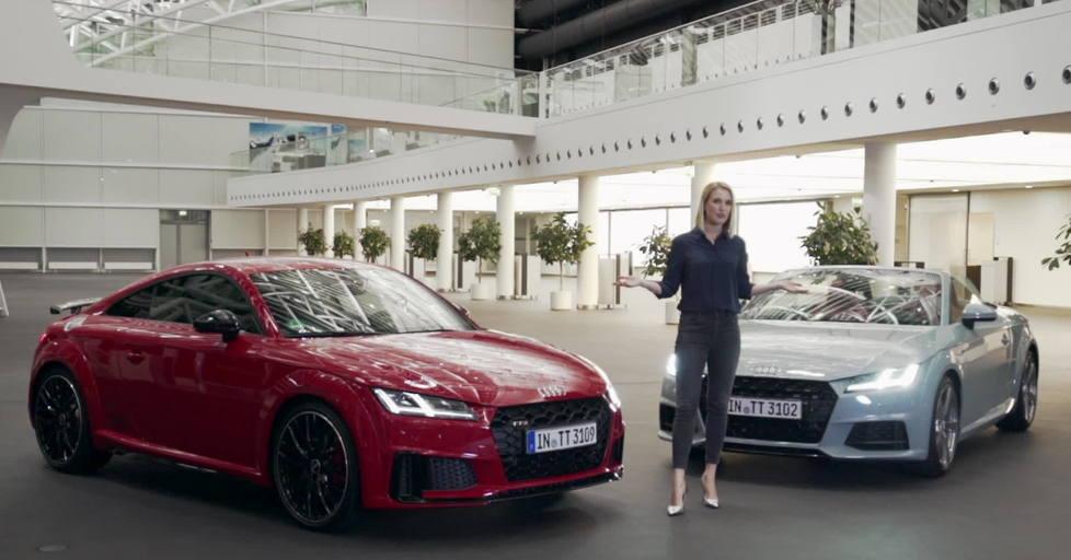 Ruth Hofmann Präsentiert Audi Tt 20 Years Und Die Tt Familie Video