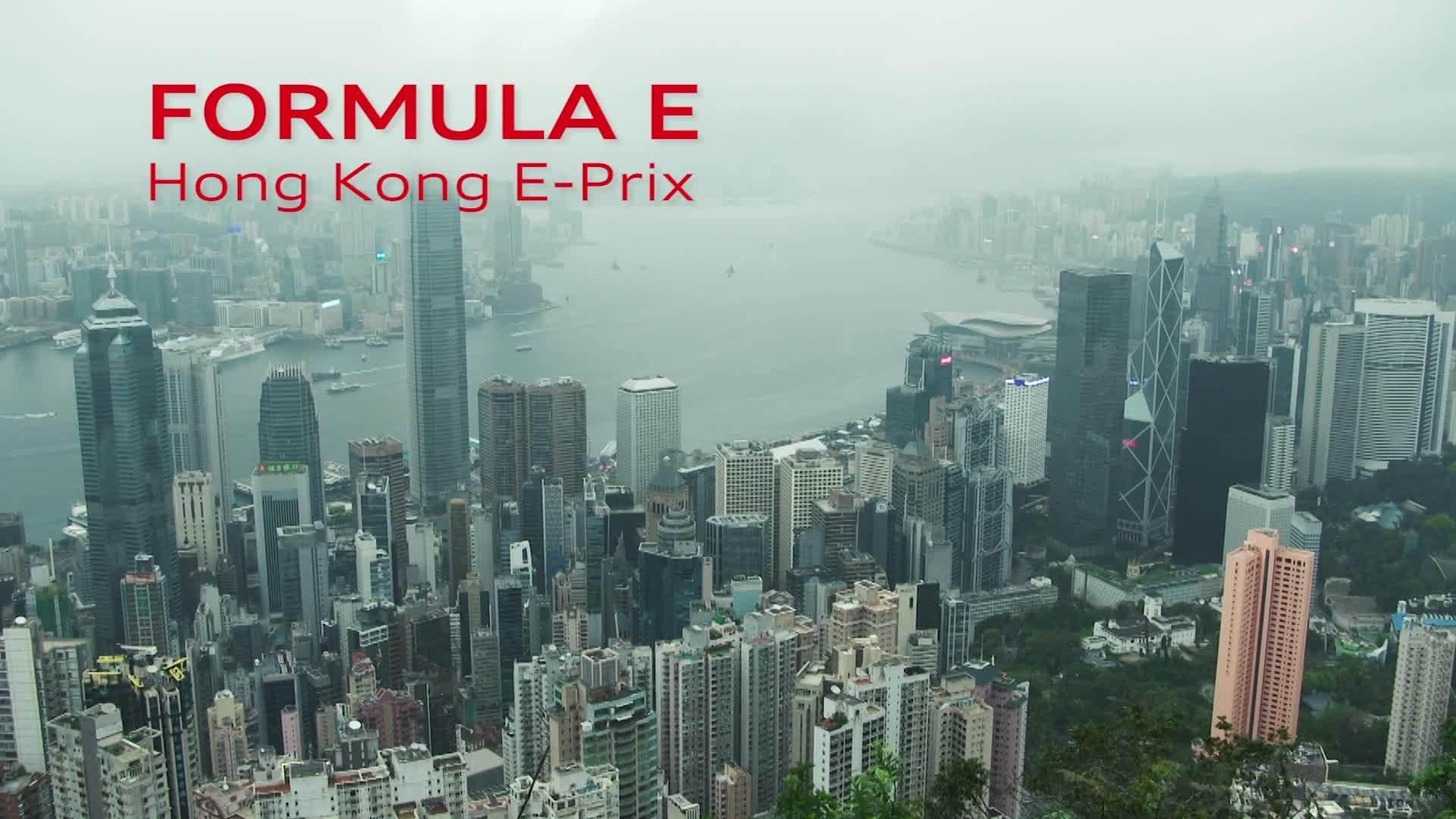 Willkommen in Hongkong: 50. Rennen der Formel E