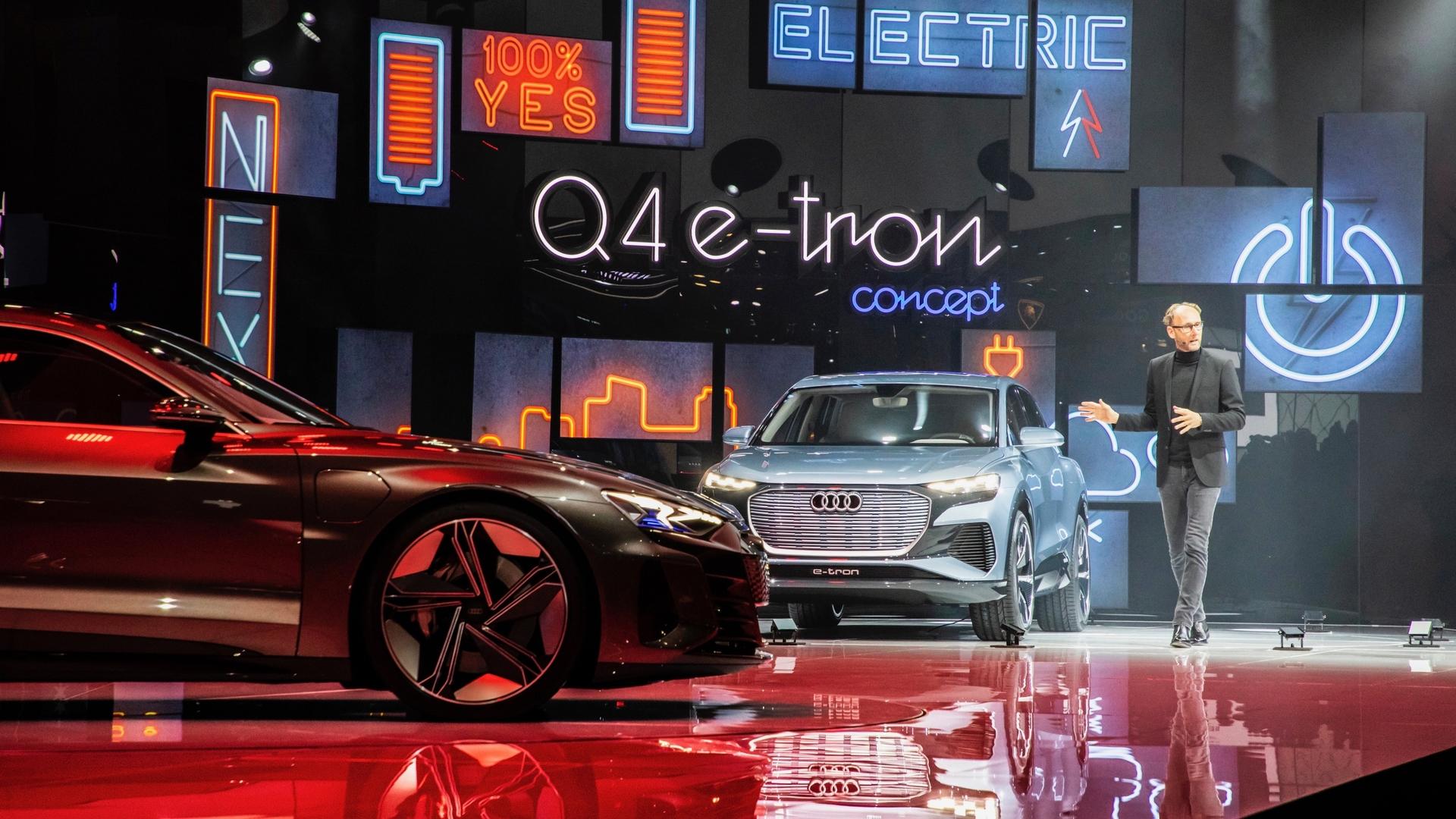 Audi Highlights vom Genfer Automobilsalon 2019