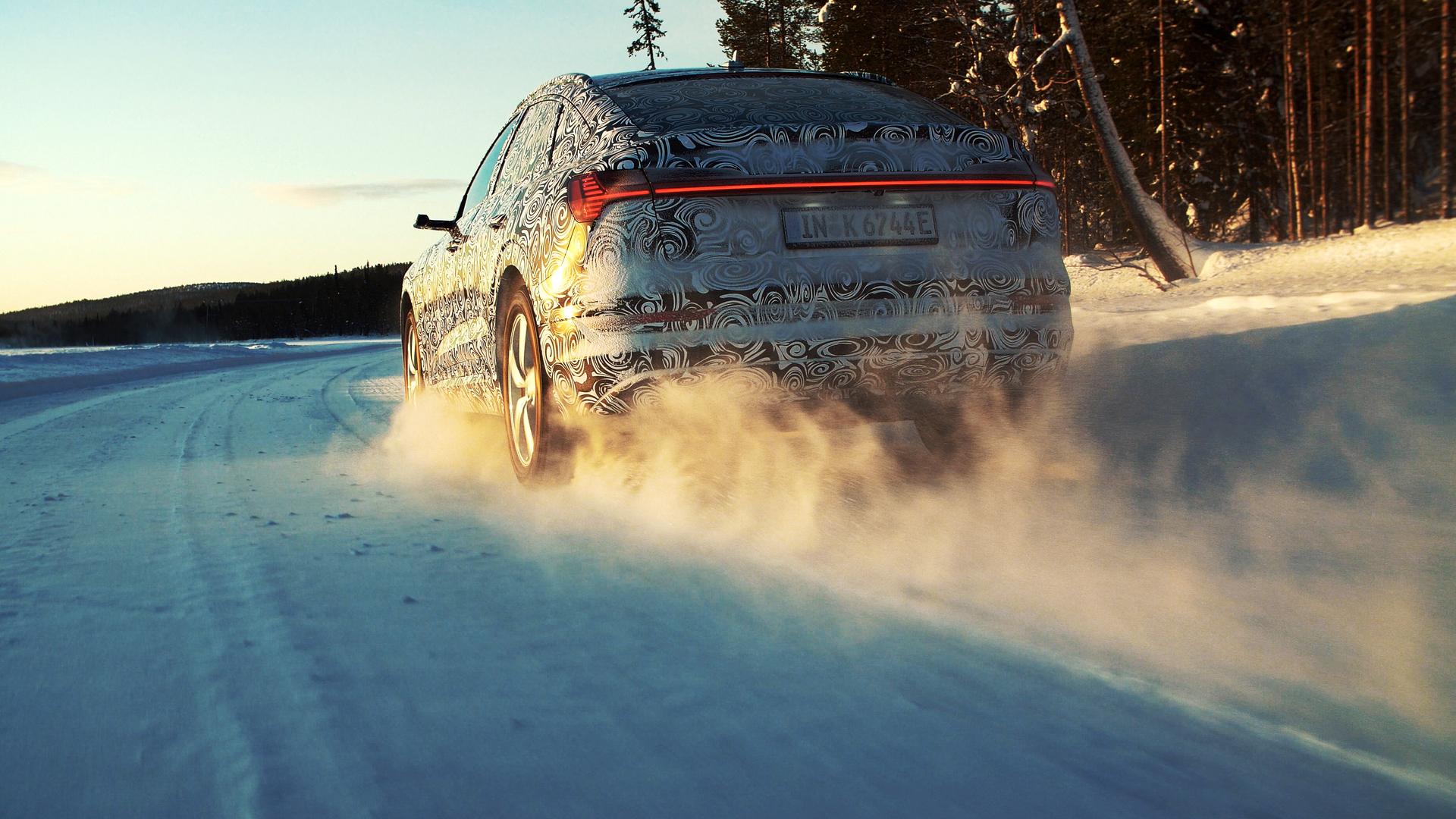 Audi e-tron Sportback prototype (Trailer)