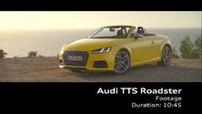 Der Audi TTS Roadster on Location - Footage Mallorca