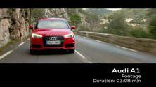 Der neue Audi A1 - Footage