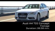 Der Audi A4 TDI ultra - Footage