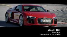 Der Audi R8 V10 plus - Footage