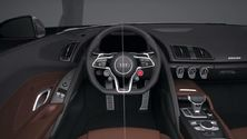 Audi R8 Interior Animation