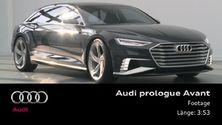 Audi prologue Avant - Footage