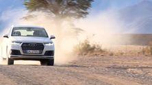 Der neue Audi Q7 auf seiner finalen Abnahmefahrt